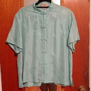 Tops - Vintage silk top